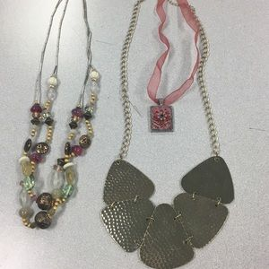 Jewelry - Gold and Pink Jewelry Set (3 piece)